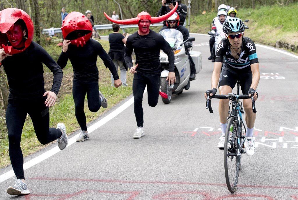 Tifosi al Giro d'Italia 2016