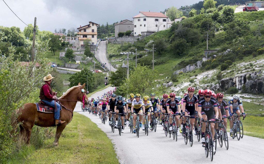 Un cowboy al Giro d'Italia 2016