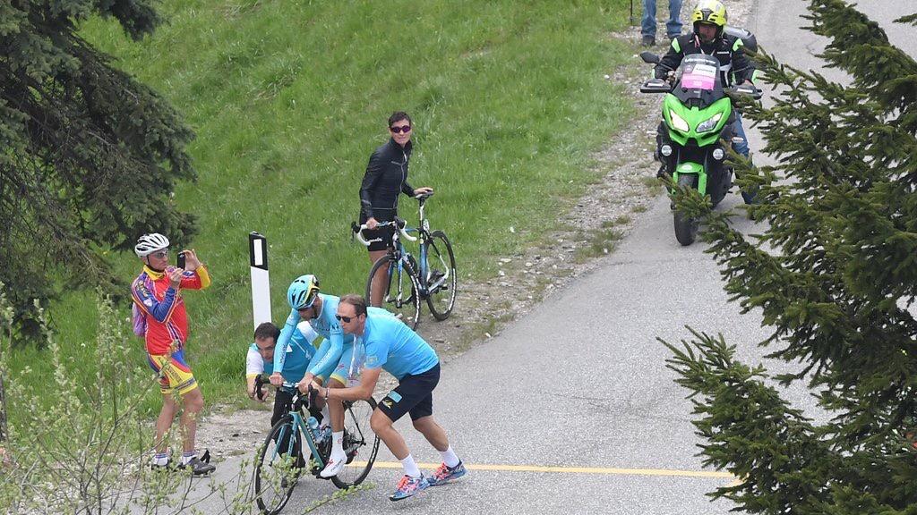 Slato di catena per Nibali al Giro 2016