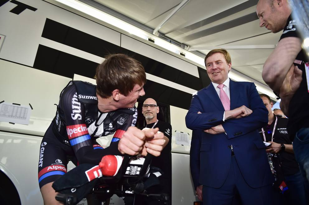Guglielmo Alessandro dei Paesi Bassi al Giro 2016
