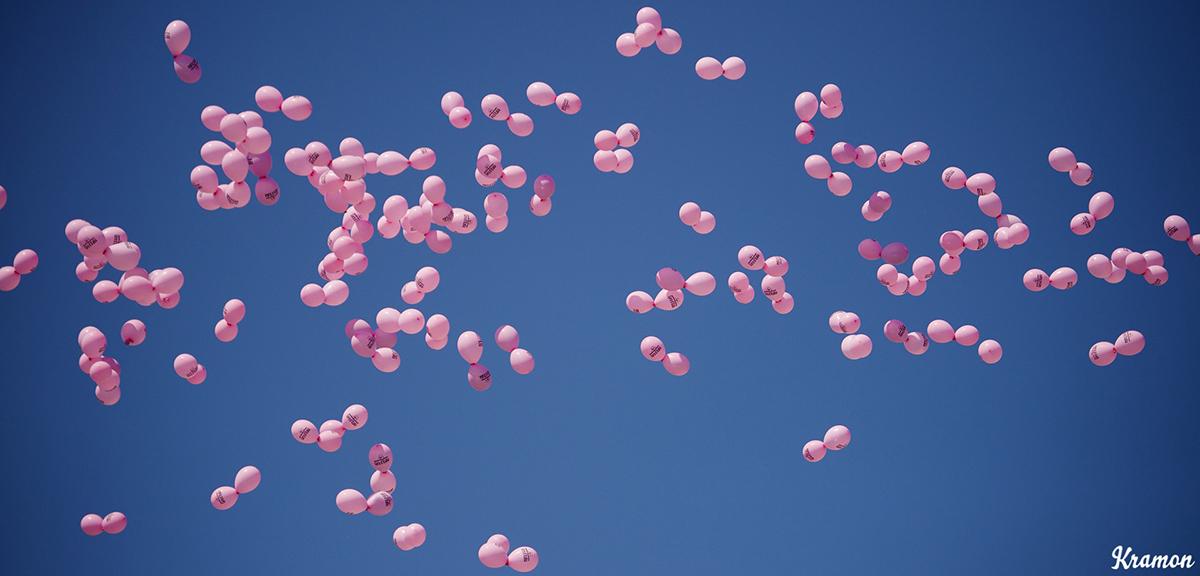 Palloncini rosa per il Giro d'Italia 2016