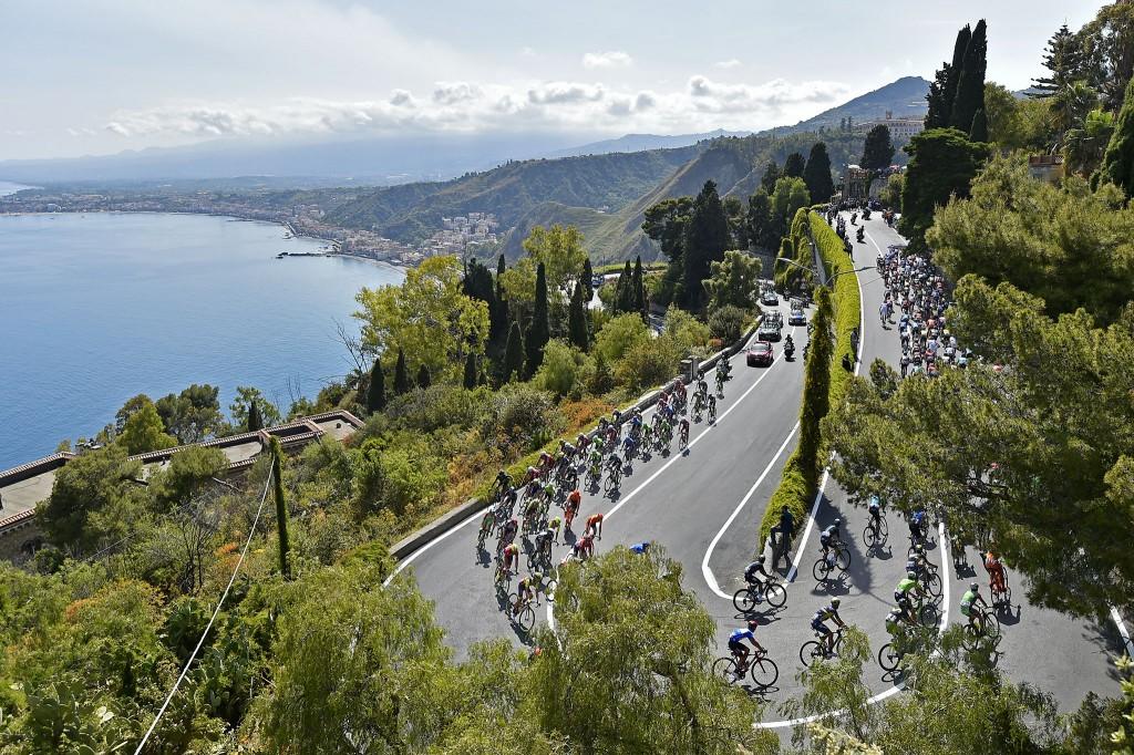Il Giro d'Italia 2017 in Sicilia