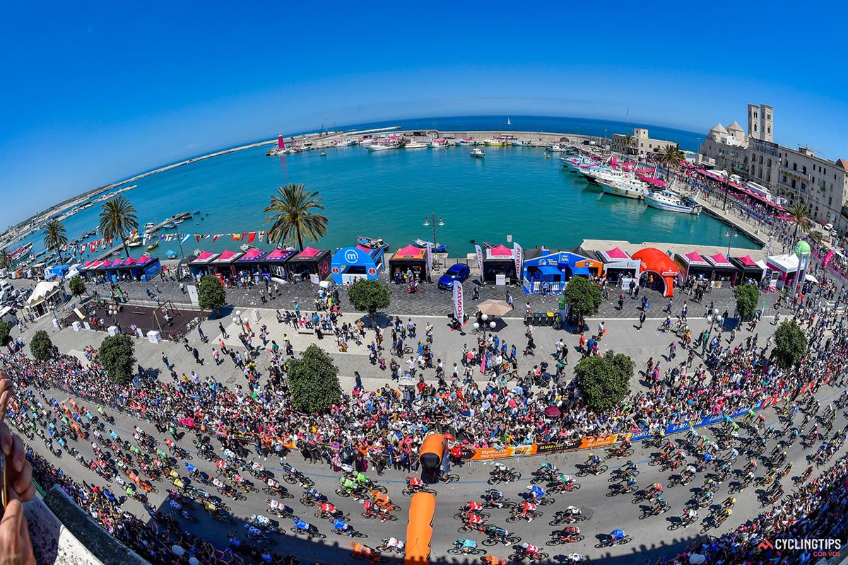 Il Giro d'Italia 2017 a Molfetta