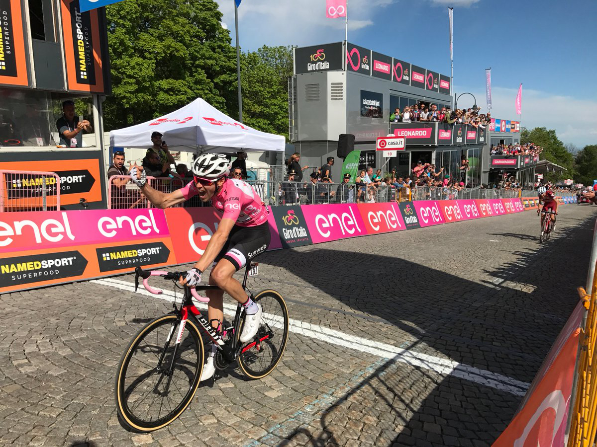 Tom Dumoulin al Giro 2017