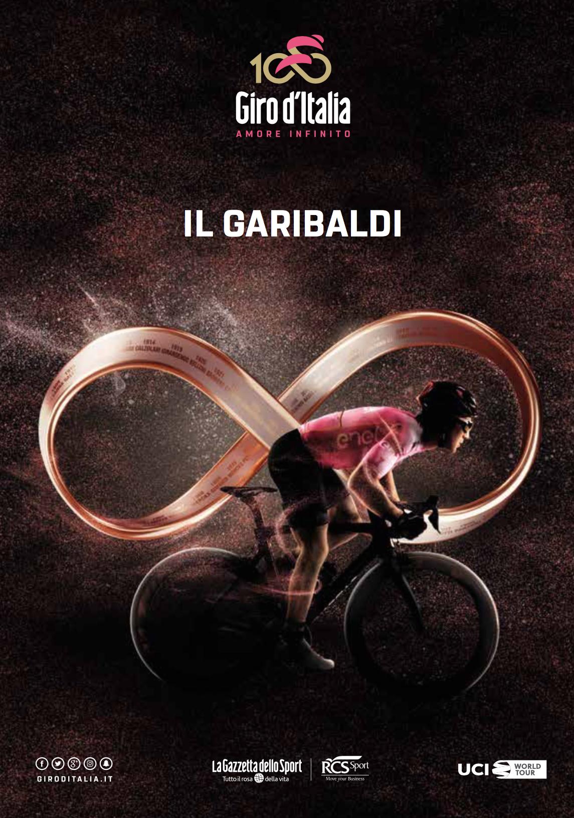 Il Garibaldi del Giro d'Italia 2017