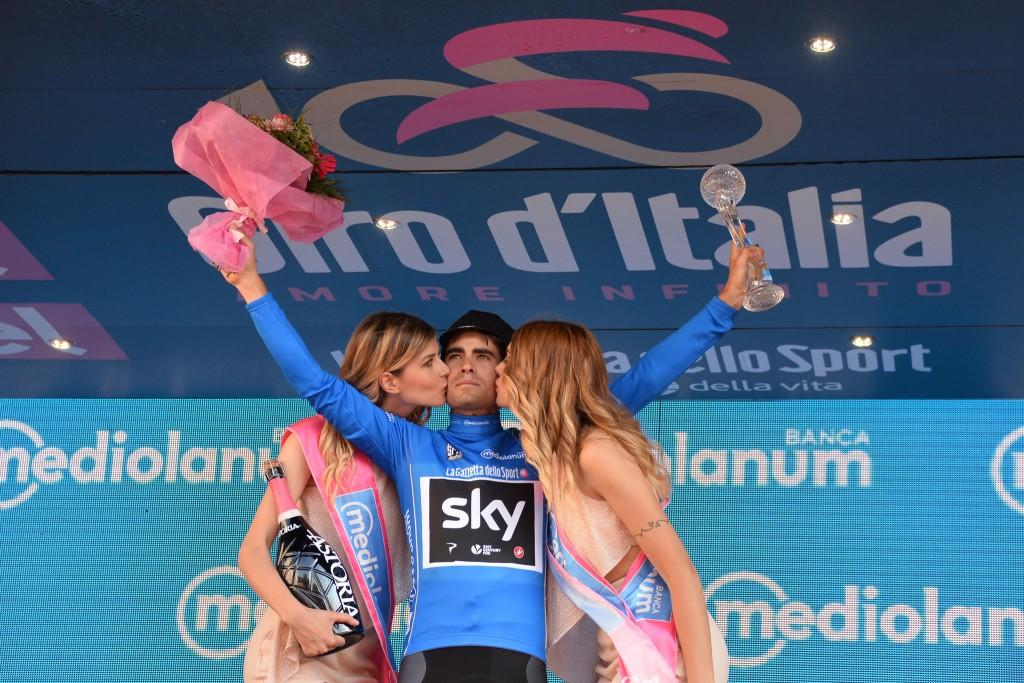 Mikel Landa al Giro d'Italia 2017