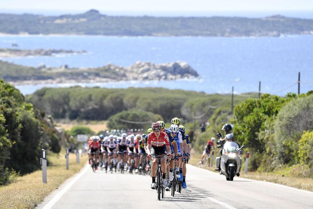 Il Giro d'Italia 2017 in Sardagna