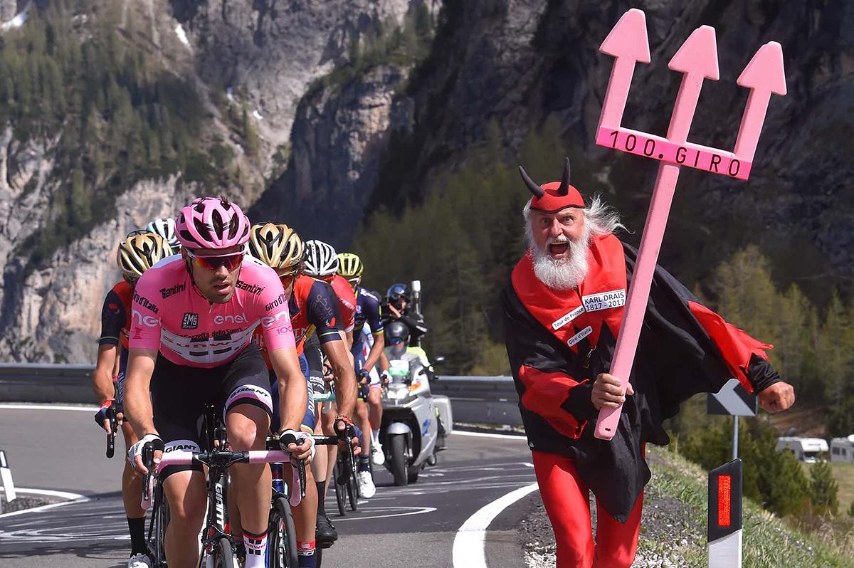 Didi Senft El Diablo al Giro d'Italia 2017