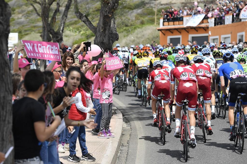 Il Giro d'Italia 2017 in Sardegna