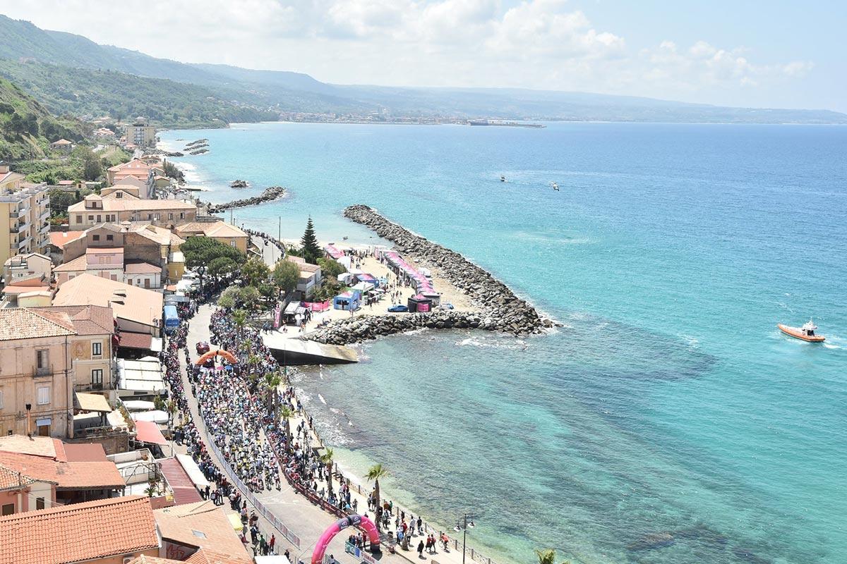 Il Giro d'Italia 2018 in Calabria