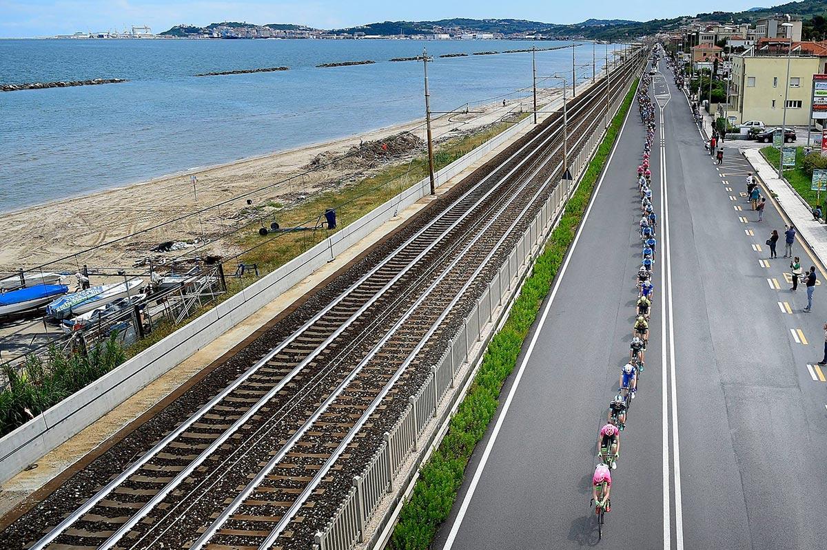 Il Giro 2018 sulla riviera adriatica
