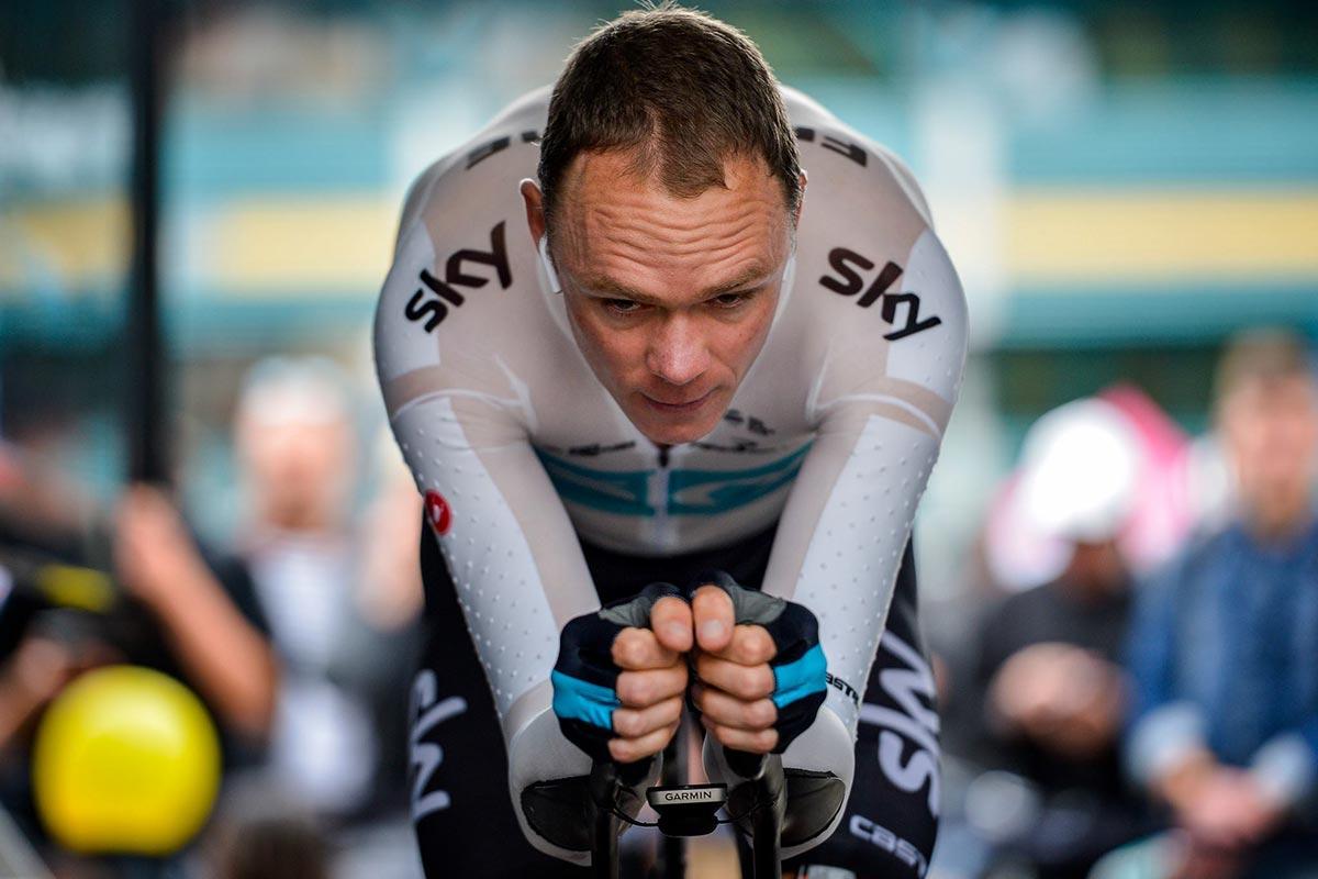 Chris Froome al Giro 2018