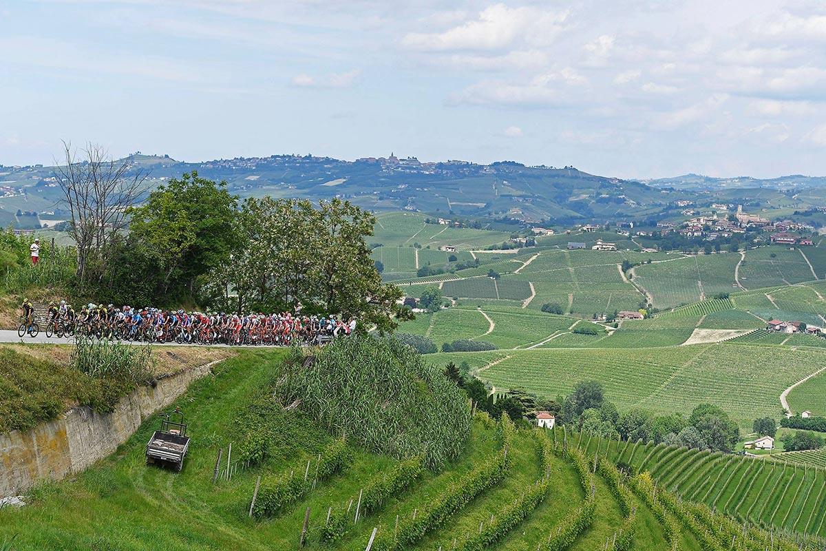 Il Giro d'Italia 2018 nella campagna italiana