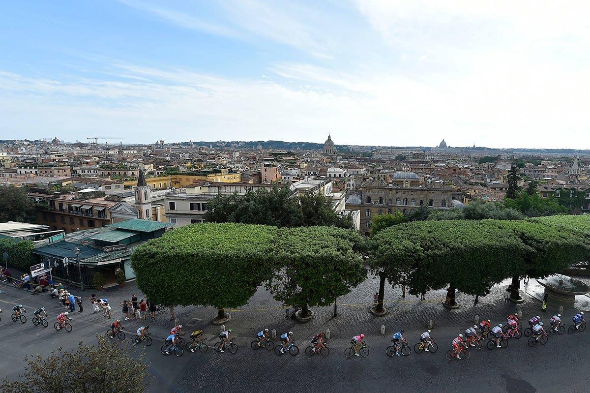 Il Giro d'Italia 2018 a Roma
