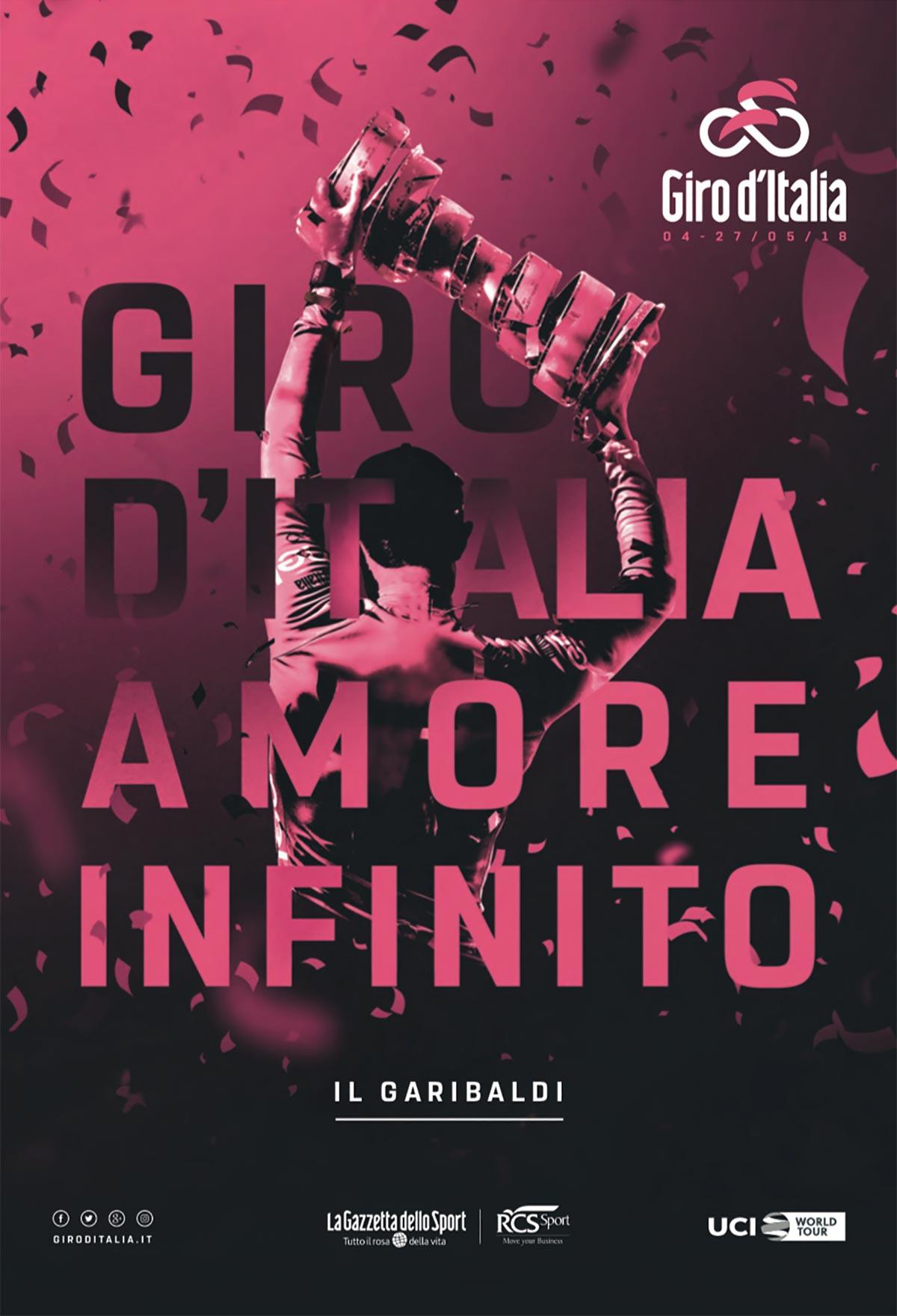Il Garibaldi, la guida ufficiale del Giro d'Italia 2018