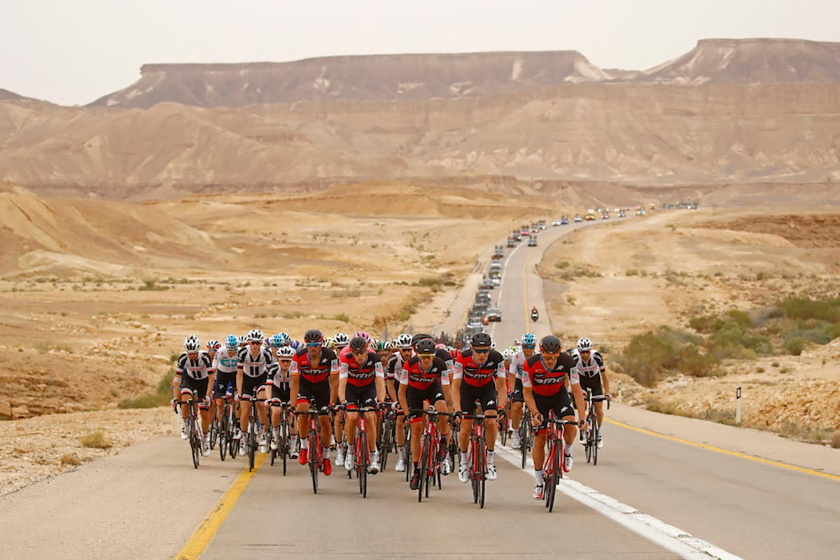 Il Giro d'Italia 2018 in Israele