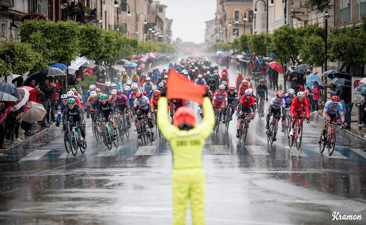 Segnalatore al Giro d'Italia 2019