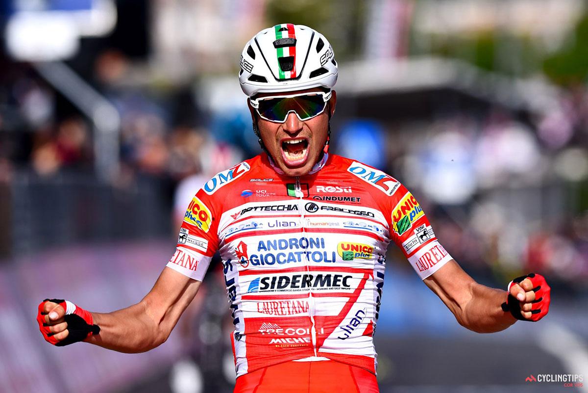 Fausto Masnada al Giro d'Italia 2019