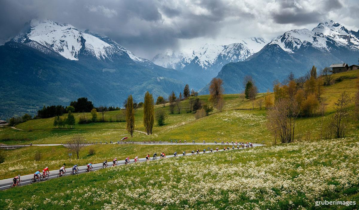 Il Giro d'Italia 2019 affronta le Alpi