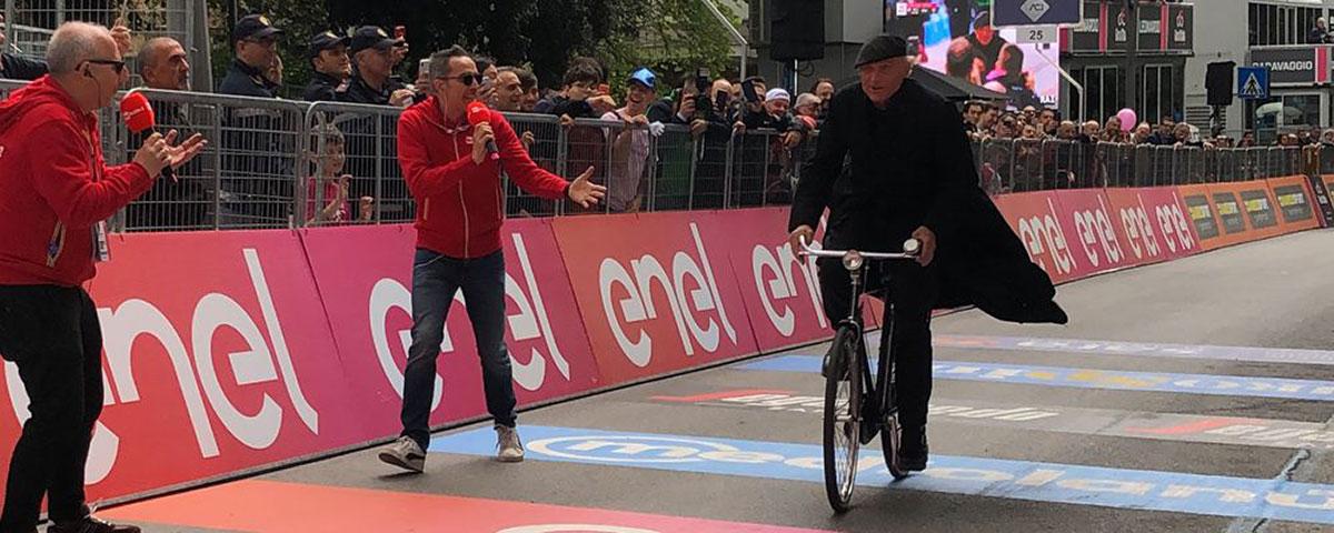 Don Matteo al Giro d'Italia 2019