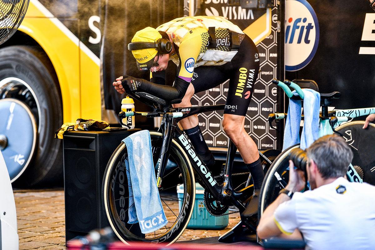 Primoz Roglic al Giro d'Italia 2019