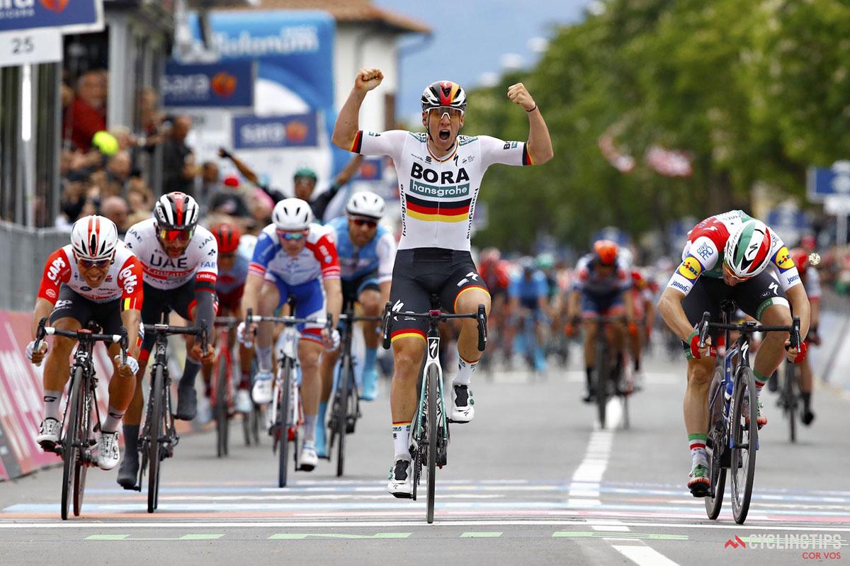 Pascal Ackermann al Giro d'Italia 2019