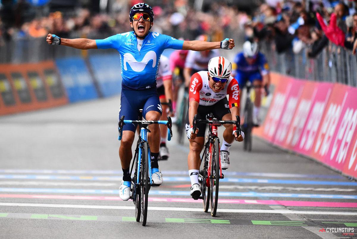 Carapaz vince al Giro 2019