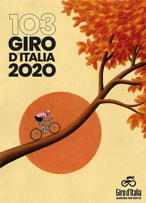 Poster del Giro d'Italia 2020