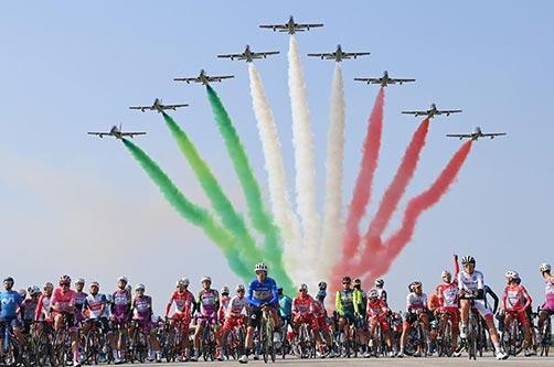 Le Frecce Tricolori e il Giro d'Italia 2020