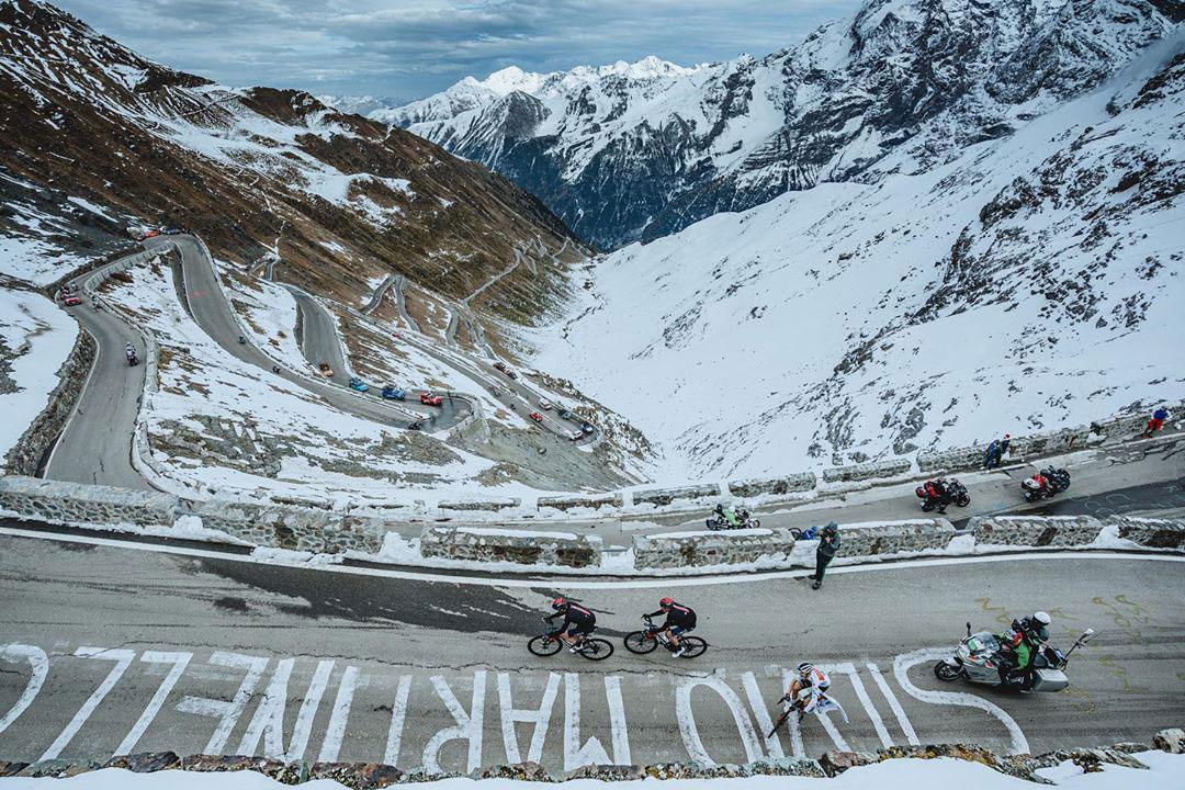 Il Giro 2020 sullo Stelvio