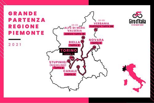 Grande Partenza del Giro d'Italia 2021