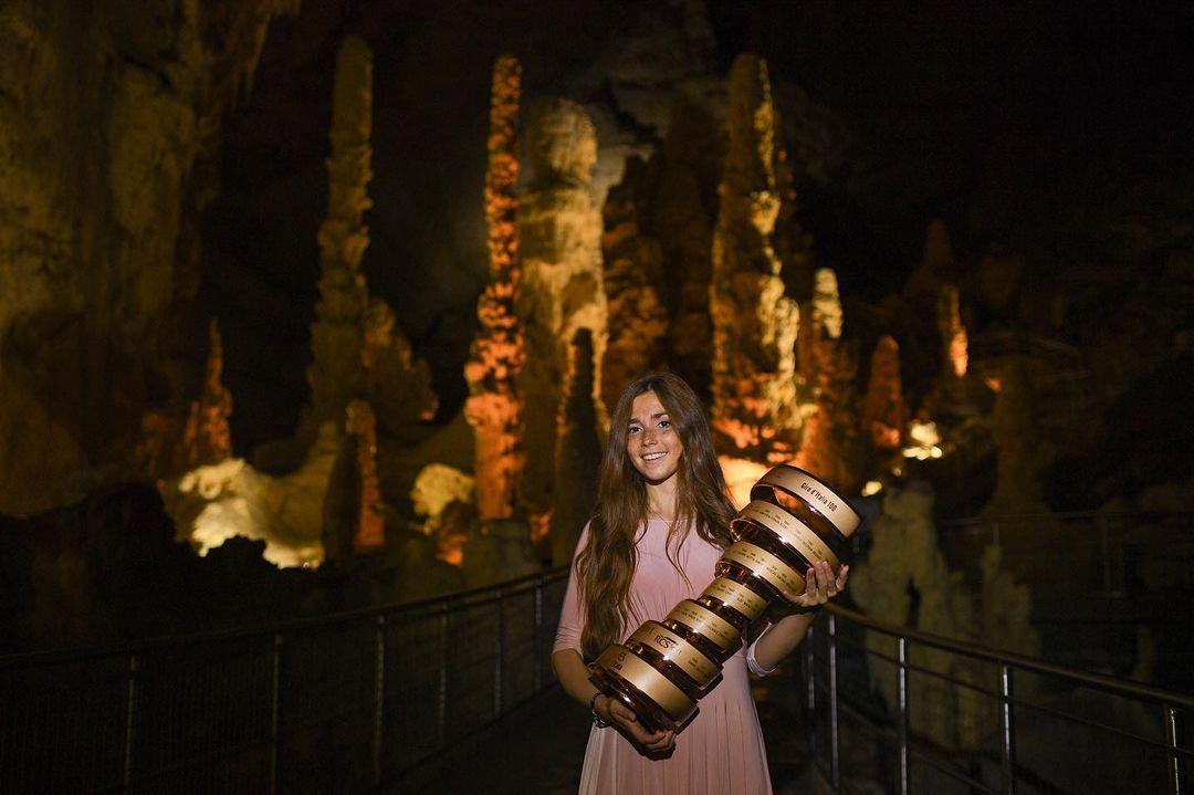 Il Trofeo Senza Fine nelle Grotte di Frasassi