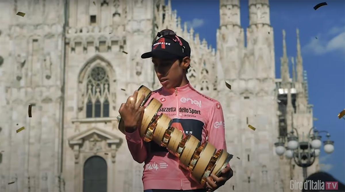Il meglio di Egan Bernal al Giro d'Italia 2021