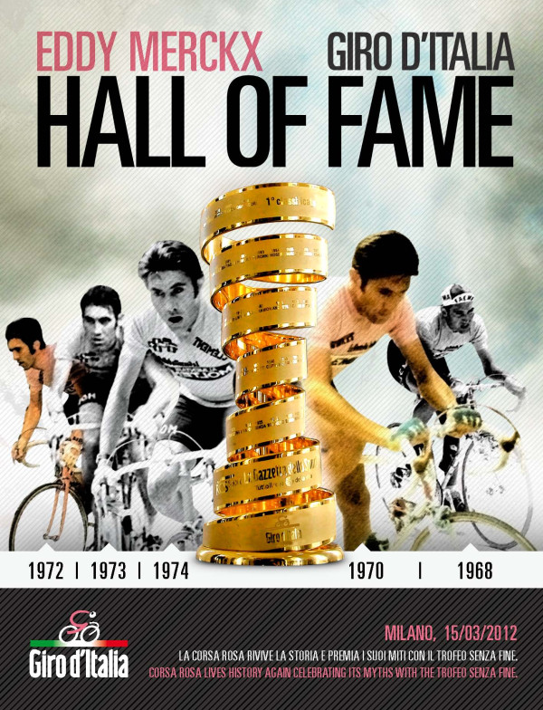 Giro d'Italia Hall of Fame Eddy Merckx