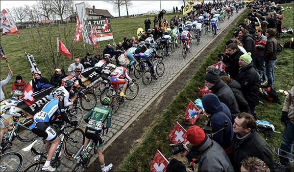 Il Paterberg al Giro delle Fiandre 2013
