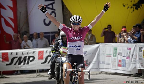Annemiek van Vleuten al Giro Rosa 2014