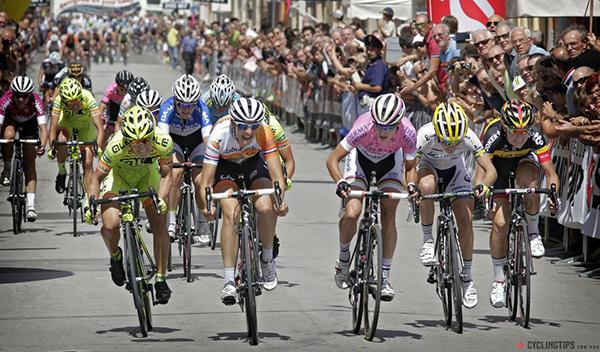 Volata al Giro Rosa 2014