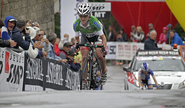 Emma Pooley al Giro Rosa 2014