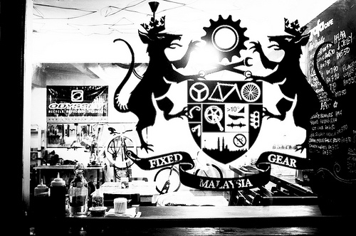 Il Grafa fixed gear bike cafe