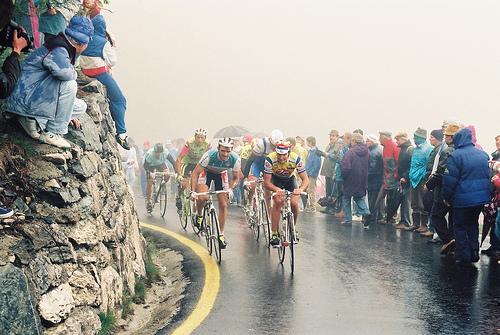 Greg Lemond al Giro d'Italia del 1991