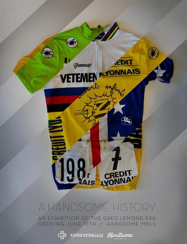 Le maglie di Greg LeMond