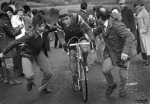 Herman van Springel alla Liegi-Bastogne-Liegi 1980