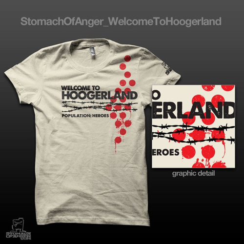 T-shirt Welcome to Hoogerland
