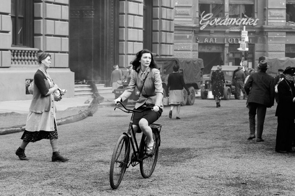 In bici durante la II Guerra Mondiale