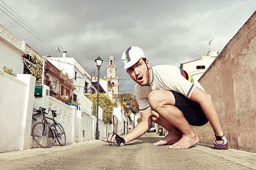 Bici in prospettiva