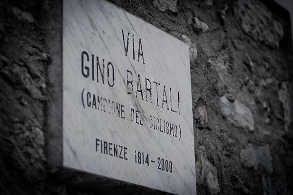 Targa via Gino Bartali