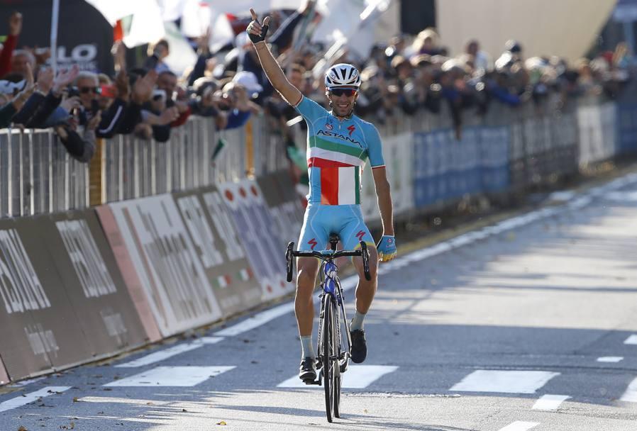 Vincenzo Nibali a Il Lombardia 2015