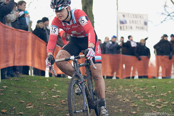 Jasmin Achermann all'UCI Cyclo-cross World Cup 2012