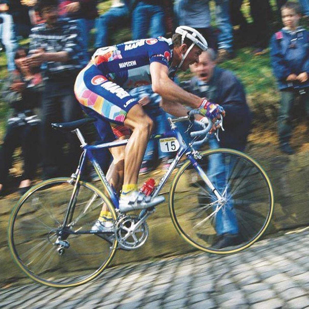 Johan Museeuw al Giro delle Fiandre