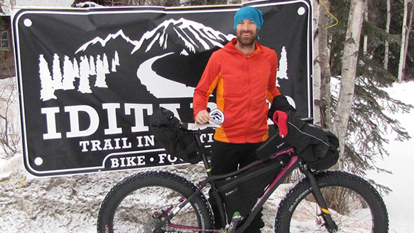 John Lackey alla Iditarod Trail Invitational